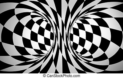 abstract black and white - abstract black and white 3d...