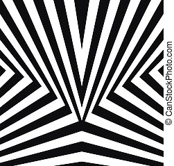 abstract black and white background vector. stripe background