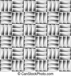 Abstract black and white minimalistic geometric background