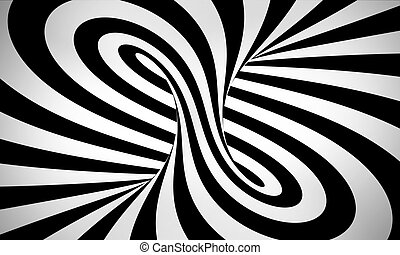 abstract black and white 3d background