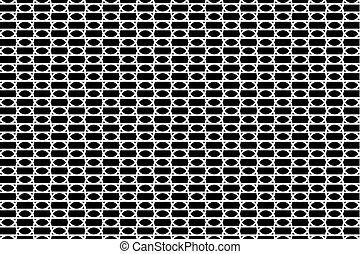 Abstract black and white - vector pattern