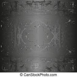 abstract black background - black background or luxury gray...