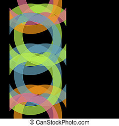 Abstract black background