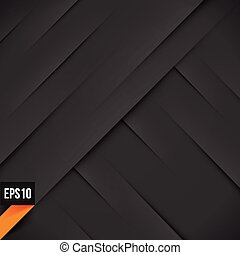 Abstract black background with lights and shadows