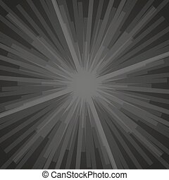 Abstract black background with white rectangles. Vector illustration