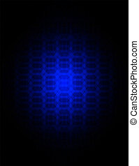 Abstract black blue texture