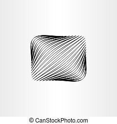 abstract black box background design element vector