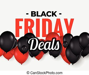 abstract black friday sale banner design