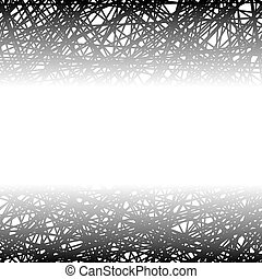 Abstract Black Line Background.