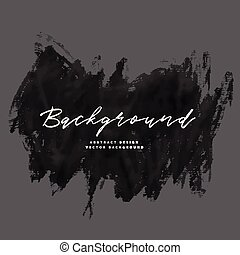 abstract black paint brush stroke background