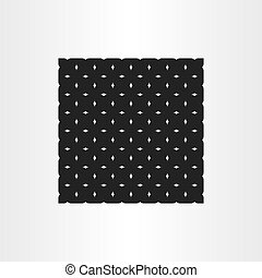 abstract black pattern vector geometric background illustration