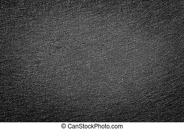 Abstract black pvc leather - Close up abstract old and...