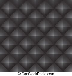 Abstract black seamless pattern.
