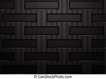 Abstract black tech concept background