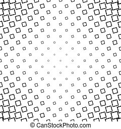 Abstract black white angular square pattern design