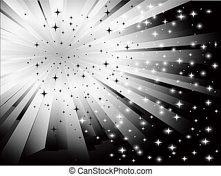 abstract black white background
