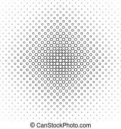 Abstract black white octagon pattern design
