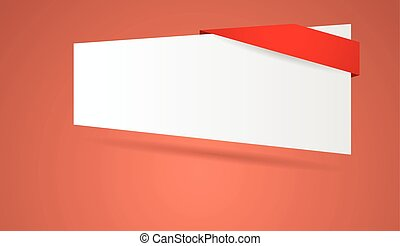 abstract blank banner