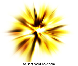 Abstract blast background