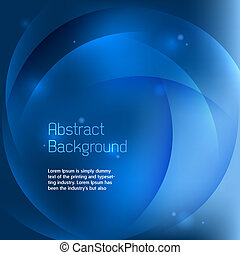 abstract, blauwe achtergrond, vector