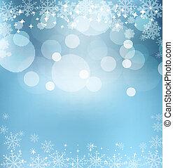 abstract, blauwe , vector, de vooravond van het nieuwe jaar,...