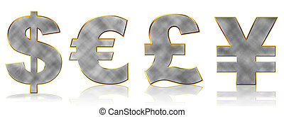 Bling Currency Symbols