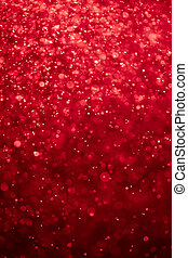 abstract bloody red background with bokeh particles