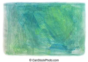 blue and green Painting Texture