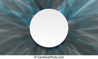 Abstract blue and grey shapes video animation - Abstract...