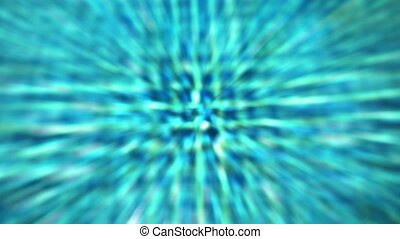 Abstract blue animation background from deep of swimming pool.