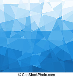 Abstract Blue Background - Abstract Blue Triangle...