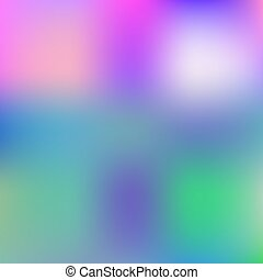 Abstract Blue Background Colorful Blurred Backdrop