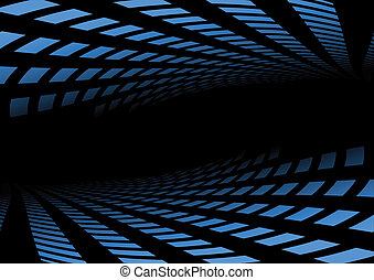 Abstract blue background dot space