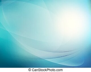 Abstract blue background. EPS 10