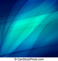 Abstract blue background, futuristic wavy web design