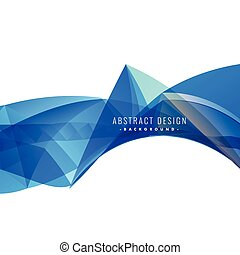 abstract blue background illustration