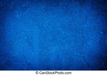 abstract blue background of elegant dark blue vintage grunge texture black on border with light center blank for luxury brochure invitation ad or web template, paper art canvas paint layout