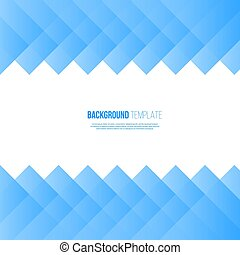 Abstract blue background template