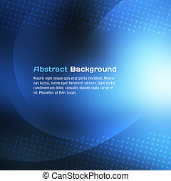 Abstract Blue Background Vector illustration for your design
