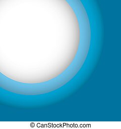 Abstract blue background with copy space