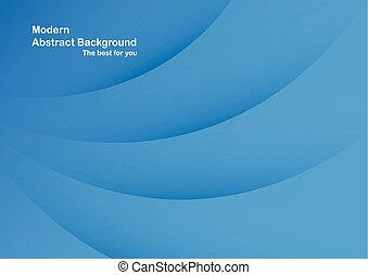 Abstract blue background with copy space for text.