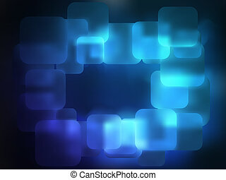 Abstract blue background with copyspace. EPS 8