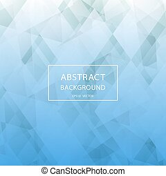 Abstract blue background with geometric pattern