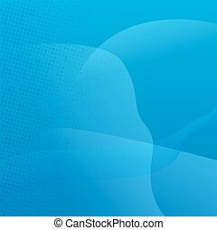 abstract blue background with halftone effect