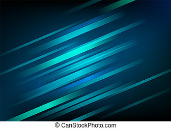 Abstract blue background with light diagonal lines. Speed motion design. Dynamic sport texture. Technology stream vector illustration