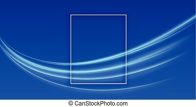abstract blue background with light streak design
