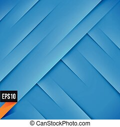 Abstract blue background with lights and shadows
