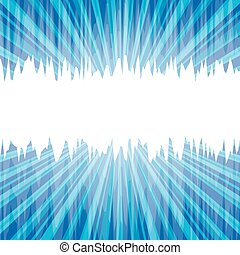Abstract blue background with place for text. Vector illustration.