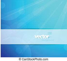 Abstract blue background with place for your text.