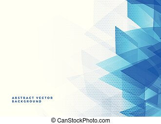 abstract blue background with text space